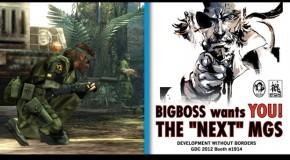 Metal Gear Solid 5 Confirmed Via Konami Job Listing