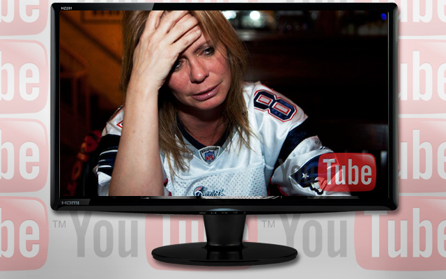 Patriots Fans Crying Over Super Bowl XLVI Loss