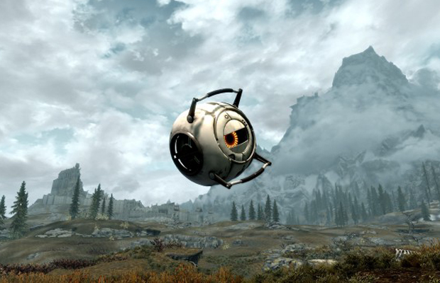 Skyrim Portal Space Core Modification