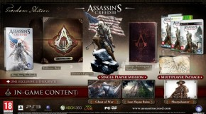 Three Assassin's Creed III Collector's Editions & New Trailer Unveiled