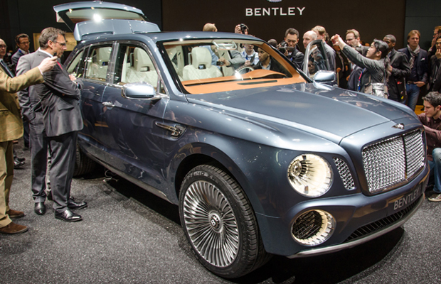 Bentley EXP 9 F Concept at 2012 Geneva Motor Show
