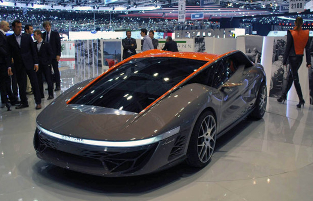 Bertone Nuccio Concept at the 2012 Geneva Motor Show