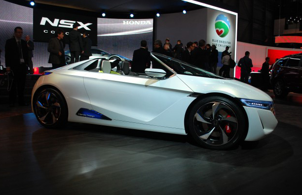 Honda EV-STER Concept at 2012 Gevena Motor Show