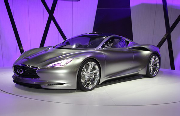 Infinity Emerg-E Concept at 2012 Geneva Motor Show