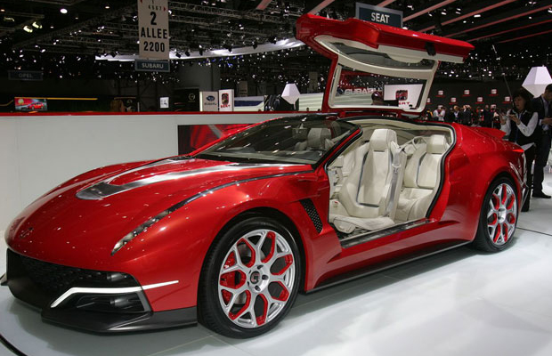 Italdesign Giugiaro Brivido at 2012 Geneva Motor Show