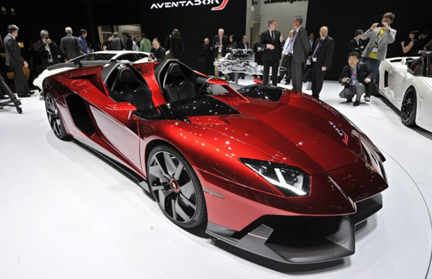 Lamborghini Aventador J Concept at 2012 Geneva Motor Show