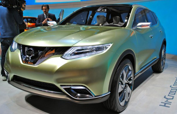 Nissan Hi-Cross Concept at 2012 Geneva Motor Show