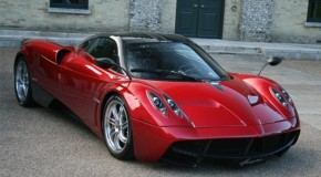 Pagani Huayra Stunts In Special Public Appearance