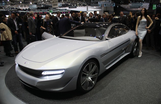 Pininfarina Cambiano Concept at the 2012 Geneva Motor Show