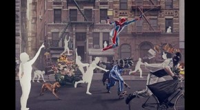 The Dark Knight Rises & Amazing Spider-Man Promo Shots Hit The Net