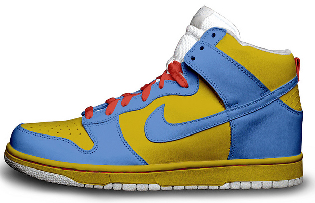 The Simpsons Nike Sneakers Maggie