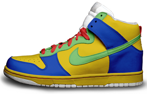 The Simpsons Nike Sneakers Marge