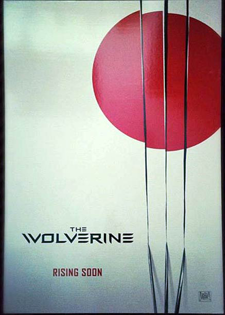 The Wolverine Poster leaks online via Instragram