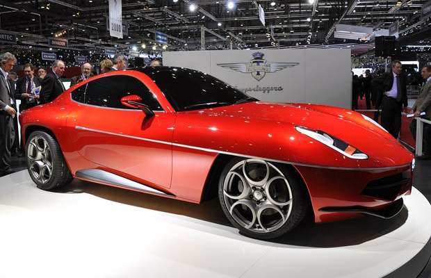 Touring Superleggera Disco Volante concept at the 2012 Geneva Motor Show