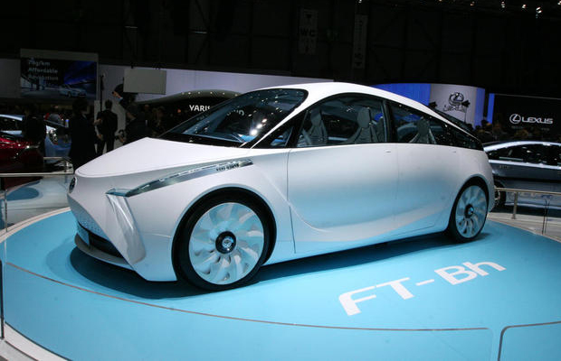 Toyota FT-Bh Concept at 2012 Geneva Motor Show