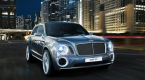 Rumored Bentley EXP 9 F SUV Concept Finally Surfaces