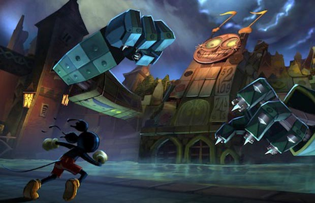 Epic Mickey 2 Gameplay Footage