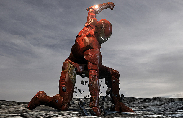 Iron Man 3 Extremis Armor