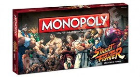 Street Fighter Monopoly Another Collectible For 25th Anniversary