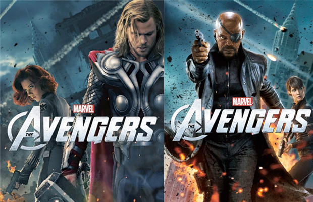 The Avengers Thor and Nick Fury