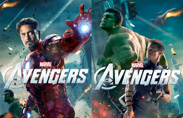 The Avengers The Hulk and Iron Man