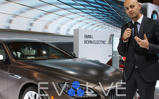 2013 BMW 6 Series Gran Coupe at the 2012 NY Auto Show with exterior designer Nader Faghihzadeh