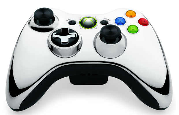 Chrome Xbox 360 Controller