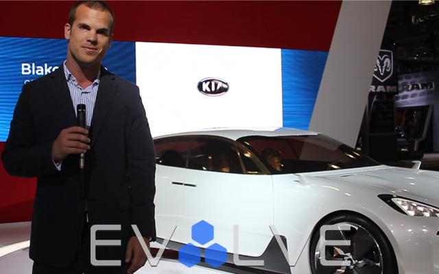 Kia GT Concept at 2012 NY Auto Show
