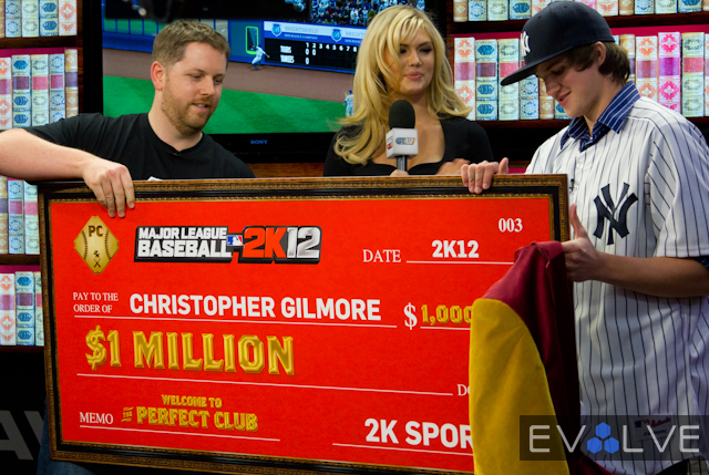 Kate Upton MLB 2K12 Perfect Challenge