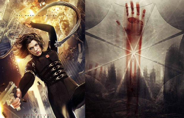 Action-Packed Resident Evil Retribution Posters Hit The Net