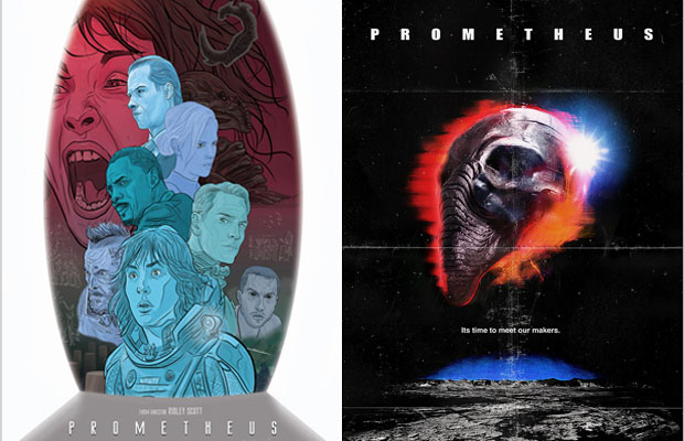 The 10 Coolest Prometheus Fan-Made Posters
