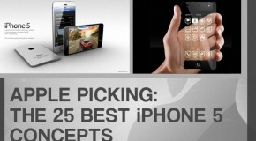 Apple Picking: The 25 Best iPhone 5 Concepts