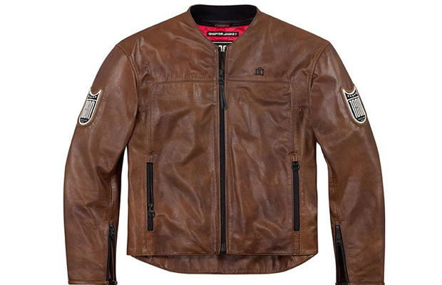 Icon D30 Motorcycle Armor Vest Lether Jacket