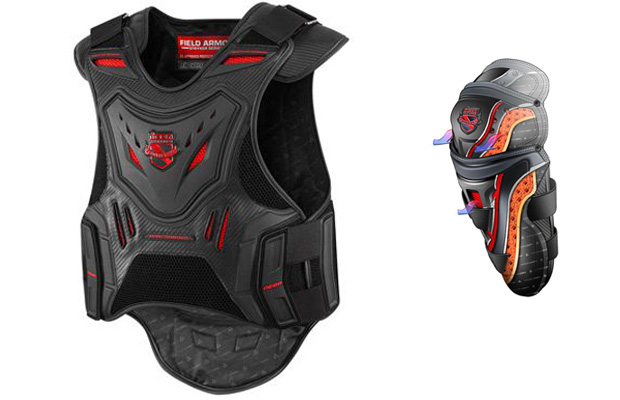 Icon D30 Motorocycle Armor Vest and Knee Pads