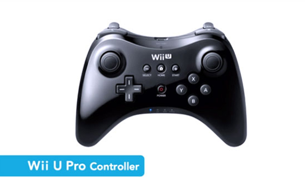 Wii U Pro Controller at E3 2012 Nintendo Press Conference