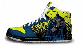 Nike'd Up: Retro Batman Custom Nike Sneakers