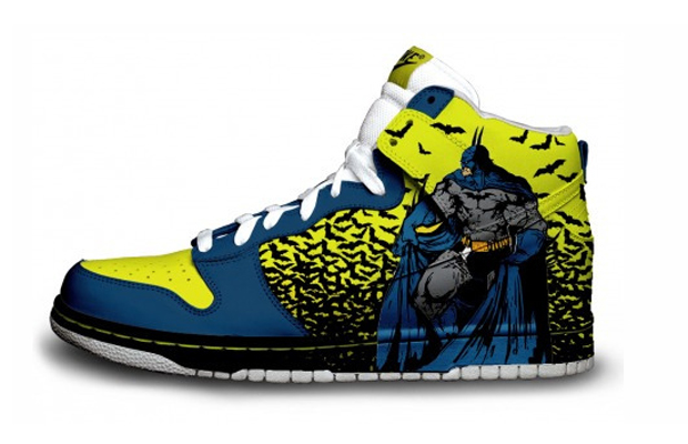 Retro Batman Nike Sneakers