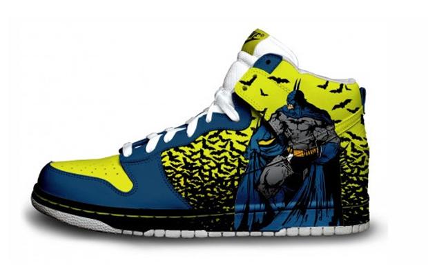 Retro Batman Nike Sneakers