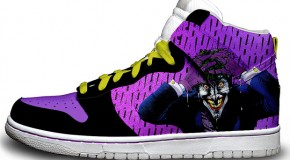 "Nike'd Up: The Joker ""Killing Joke"" Nike Sneakers"