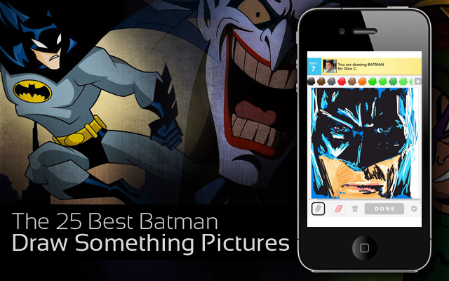 25 Best Batman Draw Something Pictures
