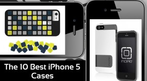 The 10 Best iPhone 5 Cases (Vol. 1)