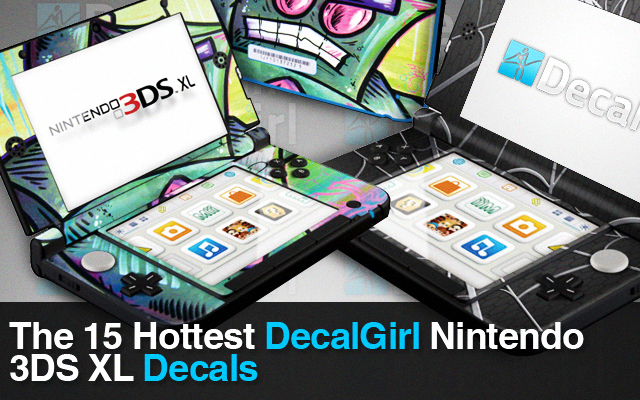 15 Hottest DecalGirl Nintendo 3DS XL Decals