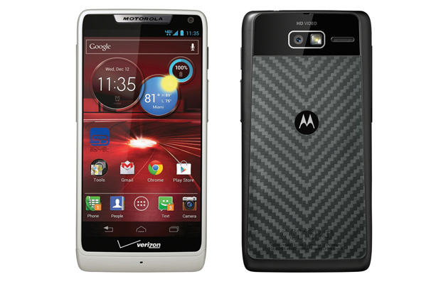 Motorola Droid RAZR M Front and Back