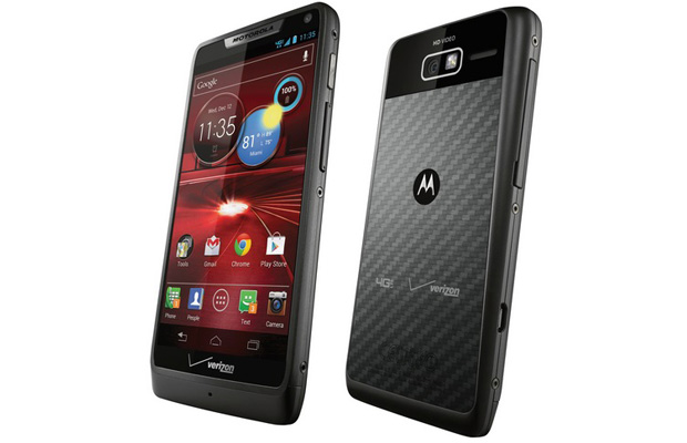 Motorola Droid RAZR M Side Angles
