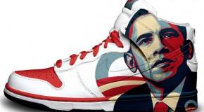 Nike'd Up: President Obama Nike Sneakers