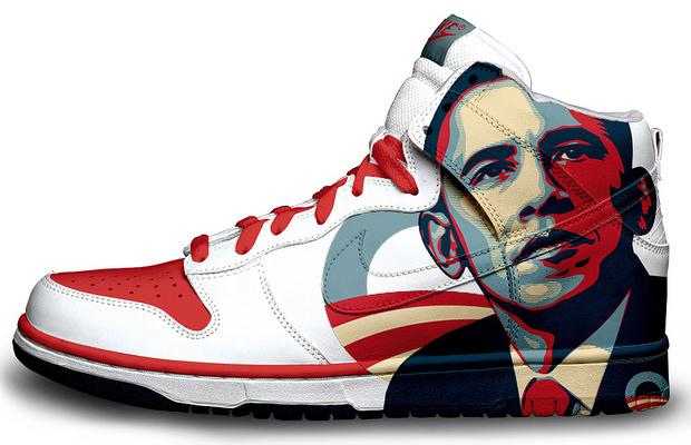 Barack Obama Nike Sneakers