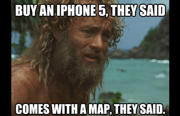 The Funniest iPhone Maps Memes