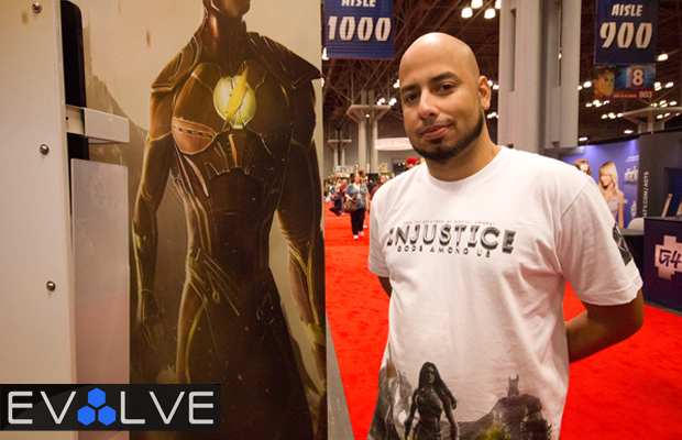 Injustice Gods Among Us Preview at NYCC 2012