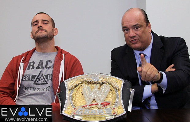 WWE 13 CM Punk and Paul Heyman Interview