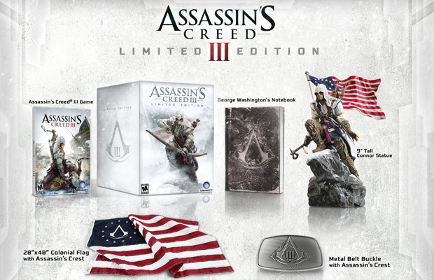 2012 Holiday Gift Guide Assassins Creed III Limited Editon